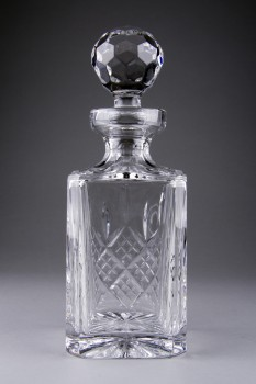 Burns Crystal decanter
