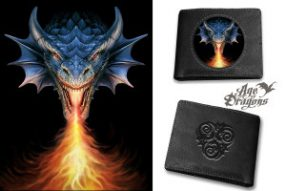 Anne Stokes wallet design