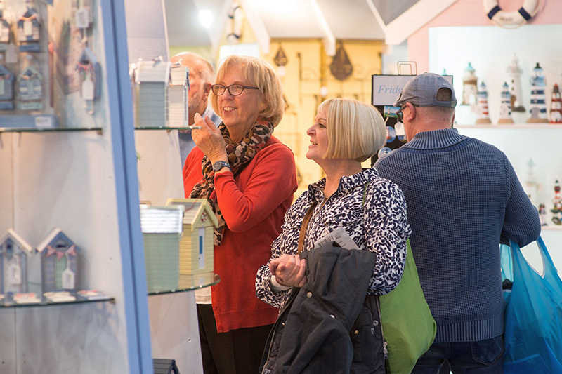 Happy buyers at the Giving & Living trade show in Exeter 2019