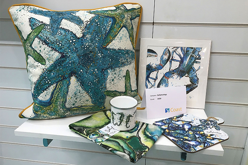 Some of the Coastal gifts on show at Giving & Living 2019