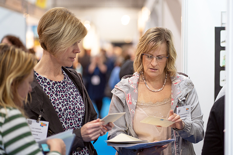Selling at the Giving & Living tradeshow in Exeter 2019