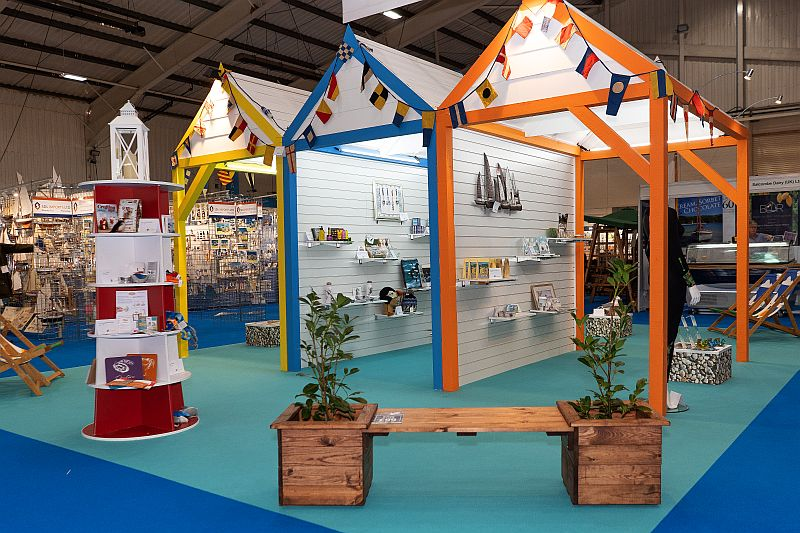 The Coastal Product Revealed area at the Giving & Living trade show in 2019