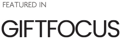 Logo for Giving & Living tradeshow media partner Gift Focus