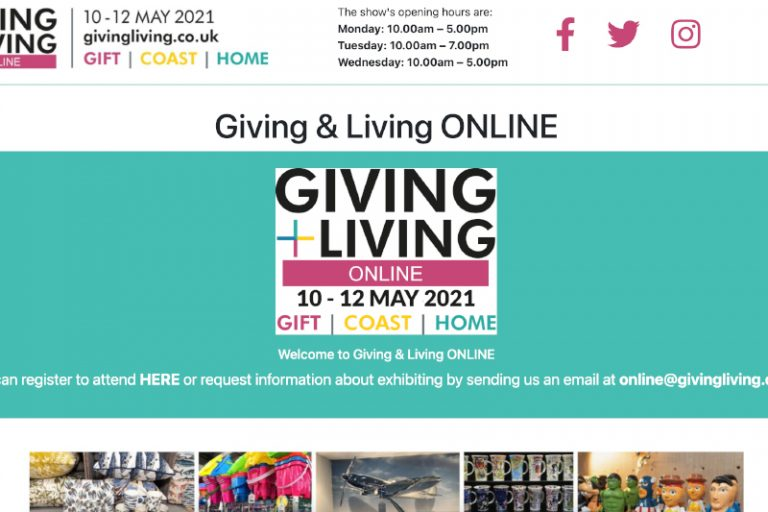 Giving & Living ONLINE goes LIVE next week!