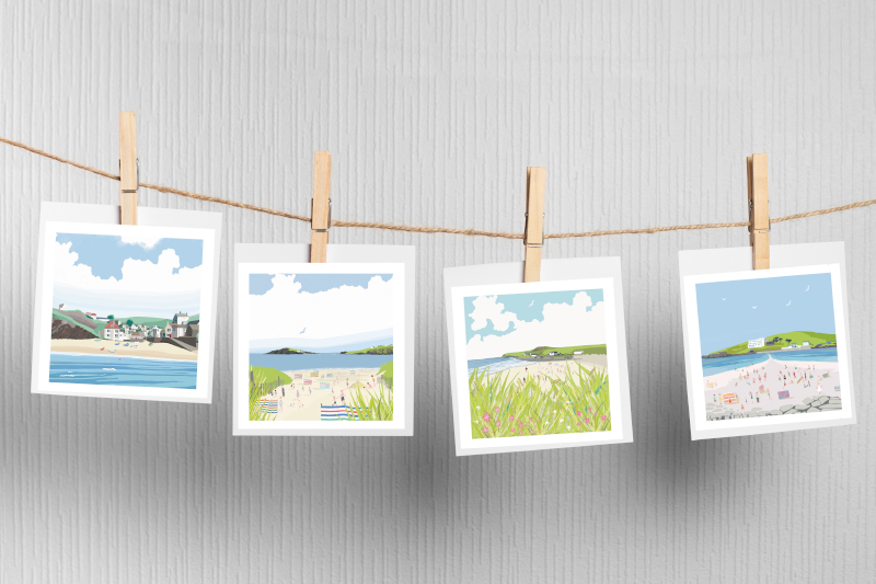 Coastal gift cards from Betty Boyns