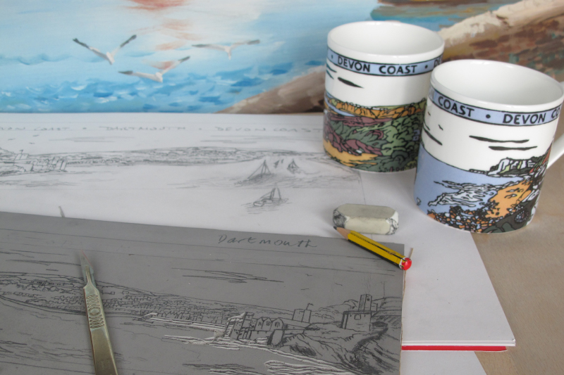 Coastal mugs and more from HK White